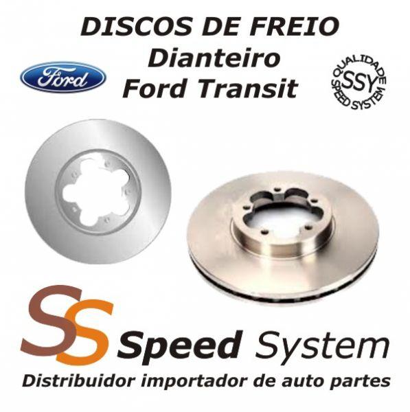 Disco de Freio para Carro ford fiesta sedan 1 6 flex 8 v